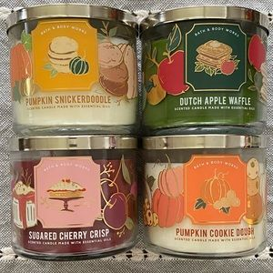 Bath and Body Works Candles NEW